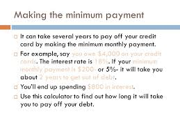 Formula Credit Card Minimum Payment How Credit Cards Work What You Need To About Credit Cards