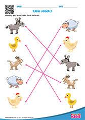 science animal homes worksheets for kids