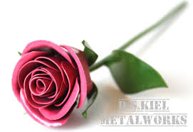 metal sweetheart rose birthday present birthday gift gift for