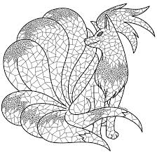 ninetales colouring page by digitalnap on deviantart
