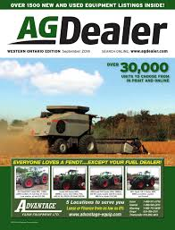 agdealer western ontario edition september 2014 by farm business