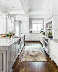 gray glazed white kitchen cabinets 25 absolutely gorgeous transitional style kitchen ideas