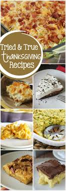 tried and true thanksgiving favorites diary of a recipe collector