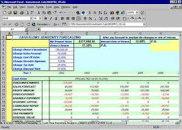 Sensitivity Analysis Excel Template Npv Excel Spreadsheets Sensitivity Analysis