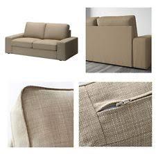 Kivik Sofa Ikea by Ikea Kivik Cover 3 Seat Sofa Slipcover Isunda Gray Linen