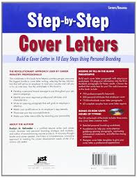 step by step cover letters build a cover letter in 10 easy steps