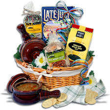 soup gift baskets gourmetgiftbaskets soup and crocks gift basket 99 53 hearty corn