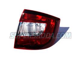 Monte Carlo Lights Rapid Limousine Original Skoda Rear Monte Carlo Tail Light