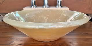 stone vessel sink amazon 853 honey onyx vessel sink amazon com in plan 16 shellecaldwell com