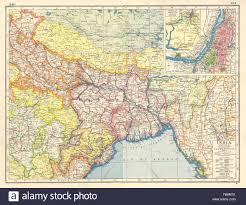 Ne Map British India Ne Bengal Nepal Orissa Bihar Bangladesh Calcutta