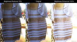 gold and white dress or blue dress and mode