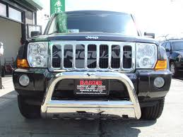 commander jeep 2010 bull bar 3 u2033 w skid plate s s design 2 lower auto beauty vanguard