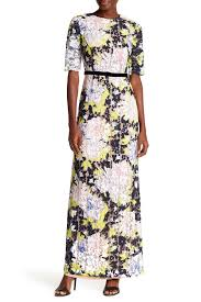 french connection botanical trip lace maxi dress nordstrom rack