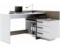 bureau avec rangement bureau d angle avec espaces de rangement à 129 99 home24