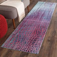 Safavieh Runner Rugs by Honeycomb Design Contemporary Area Rug Valencia By Safavieh