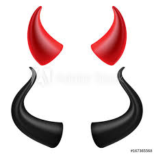 where to buy horns devils horns vector realistic and black horns set