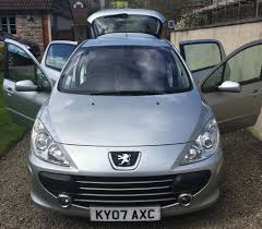 peugeot 307 peugeot 307 2007 57 peugeot 307 1 6 sport 5dr in whitchurch