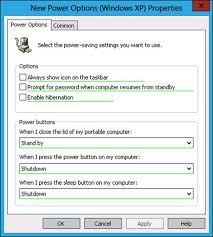 Resume From Hibernation Group Policy Settings And Preferences Training Guide