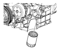 repair instructions off vehicle draining fluids and oil filter