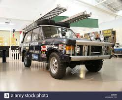 range rover truck in skyfall land rover museum stock photos u0026 land rover museum stock images