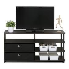 Home Depot Online Design Center by Furinno Jaya Walnut Simple Design Tv Stand 15078wnbk The Home Depot