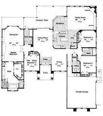mediterranean style house plan 4 beds 3 00 baths 2660 sq ft plan