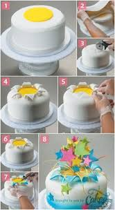 how to get sharp corners on square fondant covered cakes artisan