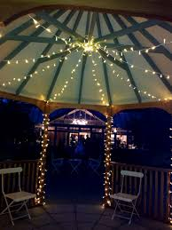 Patio Christmas Lights by Bedroom Interesting Christmas Lights Decorated Gazebo