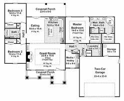 craftsman style house plan 3 beds 2 00 baths 1901 sq ft plan 21 267