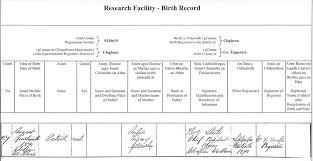 sample birth certificate how i got birth certificate in mumbai