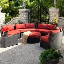 patio ideas white wicker sectional outdoor furniture wicker