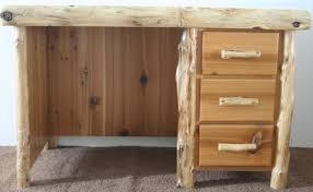 writing desk with drawers cedar log writing desk with drawers barn wood furniture rustic