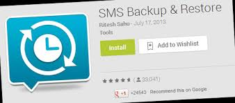 android sms backup how to backup and restore sms in android