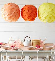 diy tissue paper lantern this would be a good use for those cheap