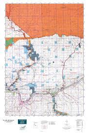 Washington Oregon Map by Wa Gmu 588 Grayback Map Mytopo