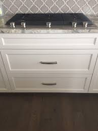 38 Inch Kitchen Sink One Or Two Pulls On 38 Inch Drawers