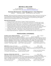 Best Resume Profile Summary by Resume Profile For Sales