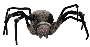 spider prop with led eyes free shipping