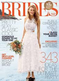 brides magazine ferguson wows in white dresses for brides magazine