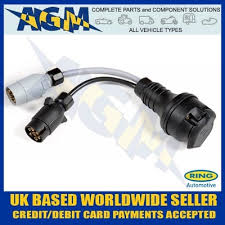 13 pin pre wired towing socket for combined 12n and 12s