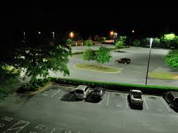 1000w led parking lot lights a retrofit of existing sixty one 1000w metal halide fixtures with