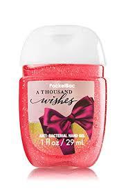 a thousand wishes bath works pocketbac gel sanitizer a