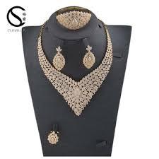 cubic zirconia necklace set images E 7312 cs fashion luxury indian bridal jewelry display set luxury jpg