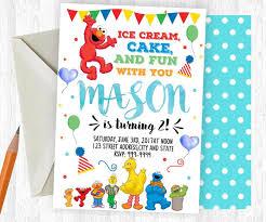 the 25 best sesame street birthday invitations ideas on pinterest