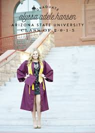 Graduation Invite Cards Arizona State University Graduation Announcement Graduation
