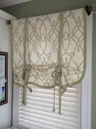 how to make a no sew window curtain shade snapguide