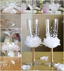 wine glasses for wedding amazing wine glass decor idea for weddings