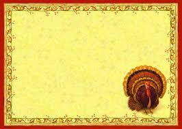 thanksgiving placemats printed paper placemats
