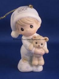 baby u0027s first christmas 2001 boy precious moment ornament