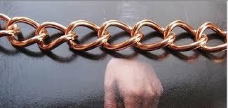 solid copper chain bracelet images Bracelets men 39 s 10 inch wrist link designs lt br gt lt br gt jpg